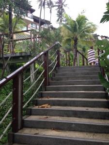 ウェスティンプーケットの階段