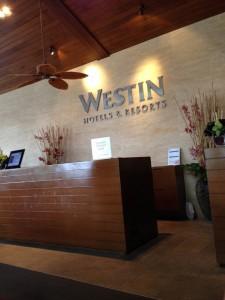 ウェスティン-プーケットのフロント