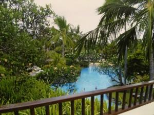 ラグーナ リゾート&スパのプールアクセスルーム2