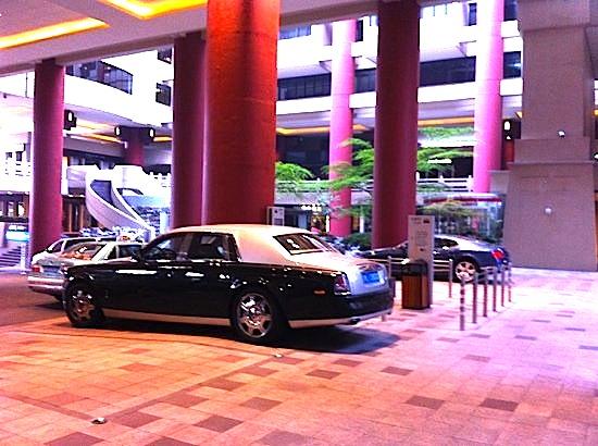上海の高級ホテル ザ ポートマン リッツカールトン上海商城