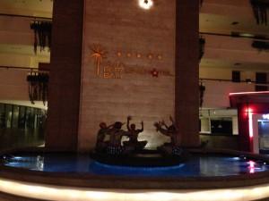 クタパラディソホテルのロビー2