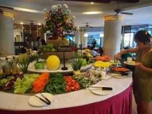 パラディソホテルの朝食