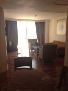 クタパラディソホテルのスイートルーム