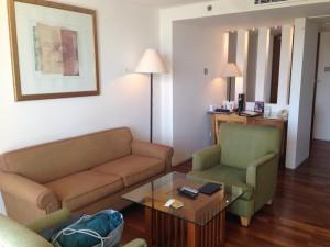 クタパラディソホテルのスイートルーム4