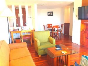 クタパラディソホテルのスイートルーム3