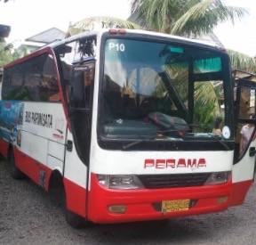 バリ クタからウブドへの移動方法 プラマシャトルバス ☆ 予算重視!