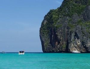 ピピ島のボートのチャーター2