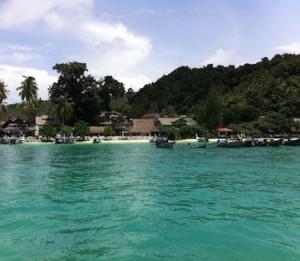 ピピ島のビーチ5