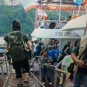 プーケットからピピ島行きのフェリー2