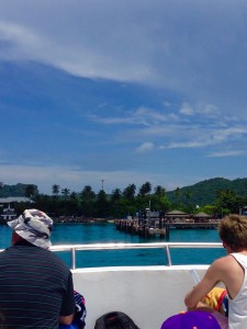 ピピドン島桟橋