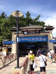 ピピドン島桟橋2