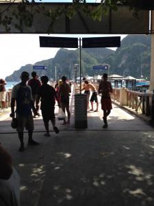 ピピ島の桟橋5