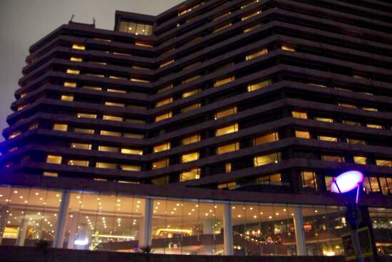 インターコンチネンタル香港の夜景-6