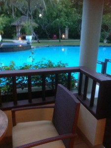 ラグーナ リゾート&スパのプールアクセスルーム