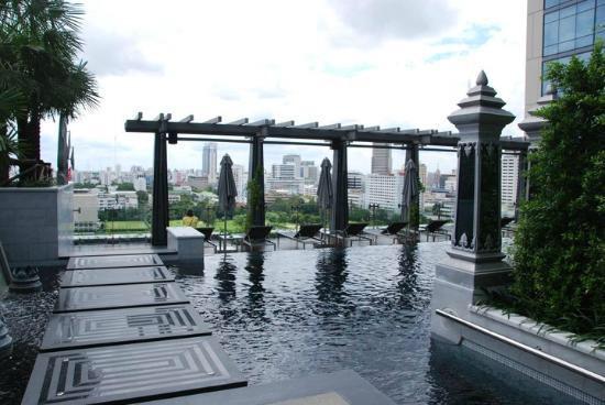 セントレジス-バンコクのプール-4