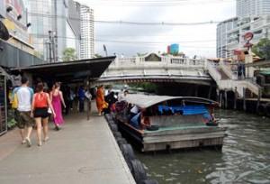 バンコクの水上バス1