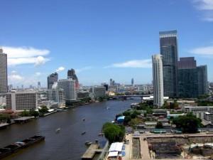 ミレニアムヒルトン-バンコクの部屋の景色