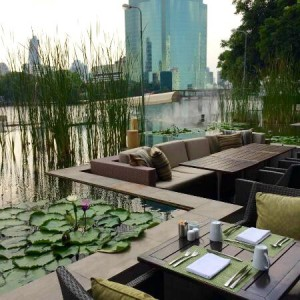 ミレニアムヒルトン-バンコクのレストランFLOW