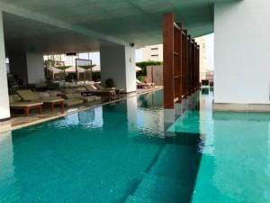 ミレニアムヒルトン-バンコクのプール2