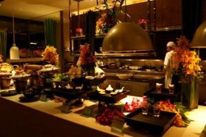 ミレニアムヒルトン-バンコクのディナー