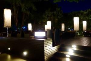 ミレニアムヒルトン-バンコクの夜景2
