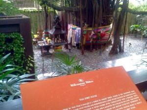 ミレニアムヒルトン-バンコクの祠