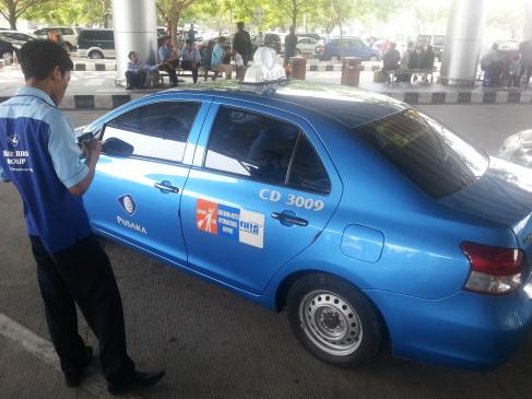ジャカルタ-タクシー