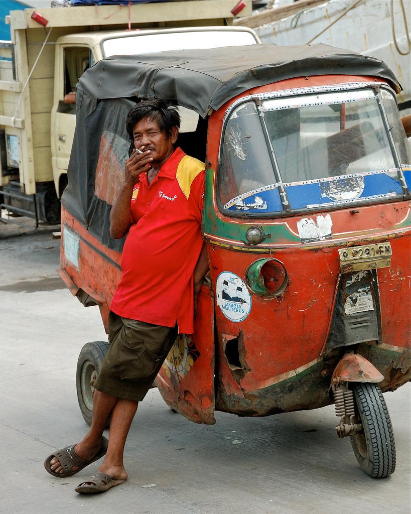ジャカルタ-タクシー-乗り方