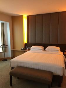 ジャカルタホテルのベッド3