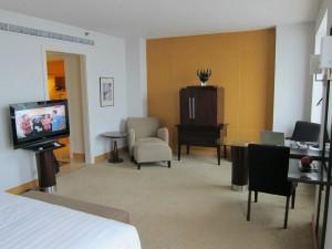 ジャカルタホテルのベッド4