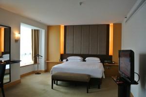 ジャカルタホテルのベッド2