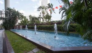グランドハイアット-ジャカルタの噴水