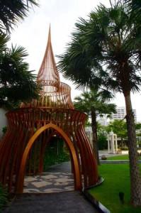 グランデセンターポイント-ホテル-庭 3