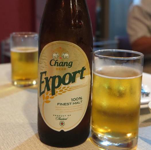 ソンブーン・シーフード-スリウォン-バンコク-somboon-seafood-ビール