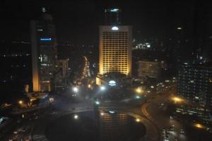夜のグランドハイアット-ジャカルタの部屋2