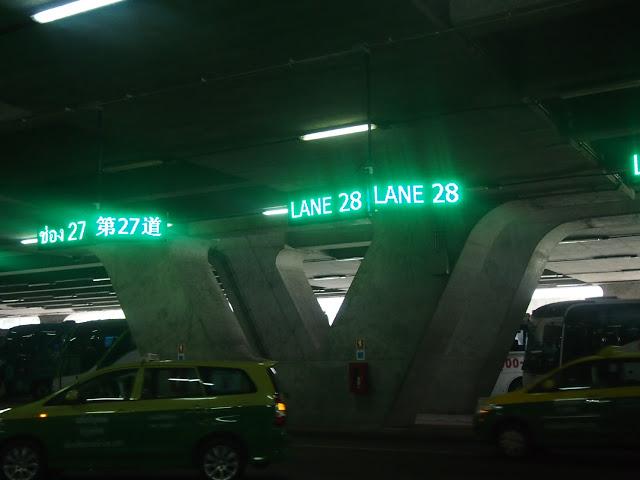 スワンナプーム空港-バンコク-タクシー-5