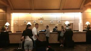 バイヨーク-スカイ-ホテルのフロント