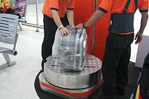 スワンナプームの荷物ラッピング