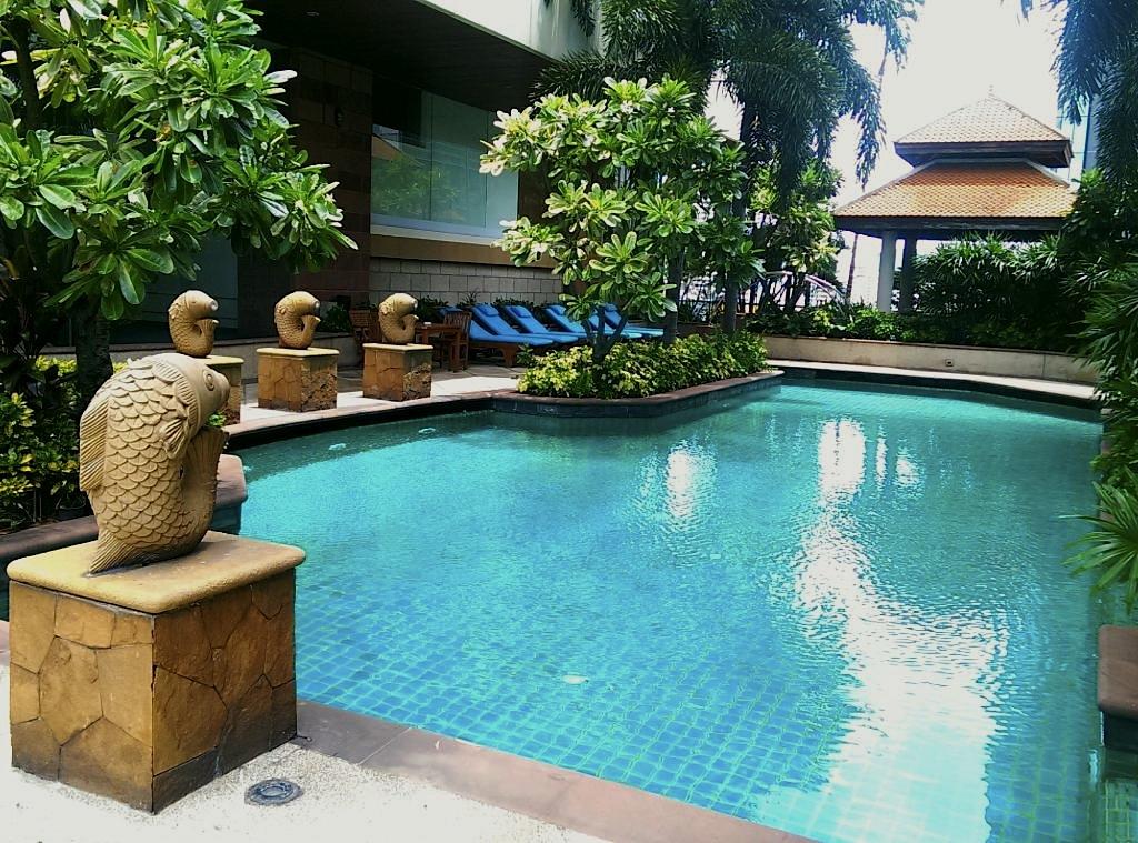 ジャスミン-シティ-バンコクのプール5