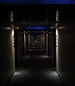 ドリームホテルバンコクの廊下