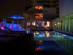 ドリームホテルバンコクのプール