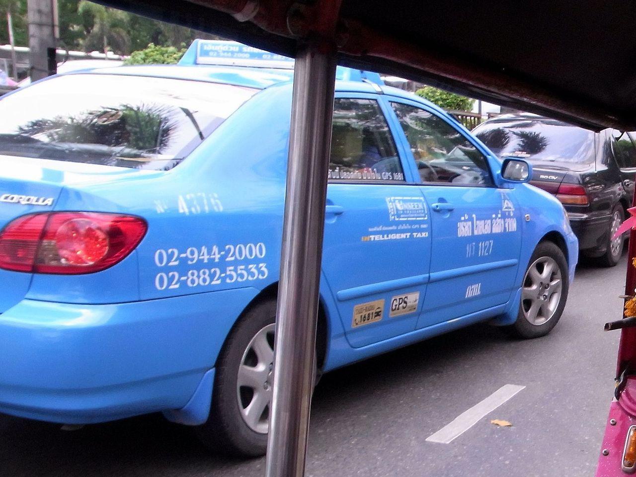 タイ-バンコクのタクシー-乗り方-3