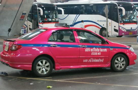 タイ-バンコクのタクシー-乗り方-1