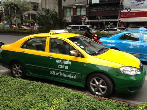 タイ-バンコクのタクシー-乗り方-6