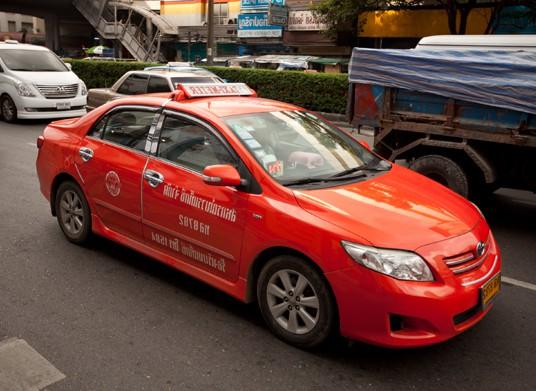 タイ-バンコクのタクシー-乗り方-7