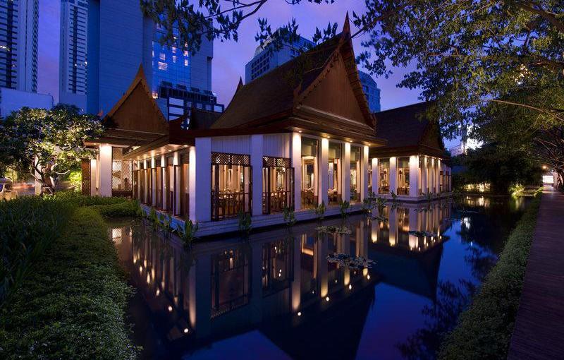 タイのレストランでおすすめはどこ?タイ料理 セラドン@スコータイホテル