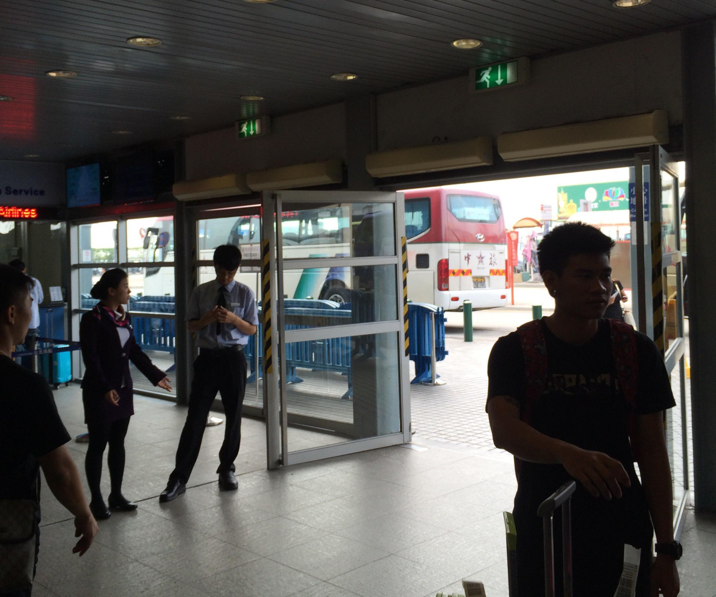 マカオから香港空港-フェリーターミナル-7