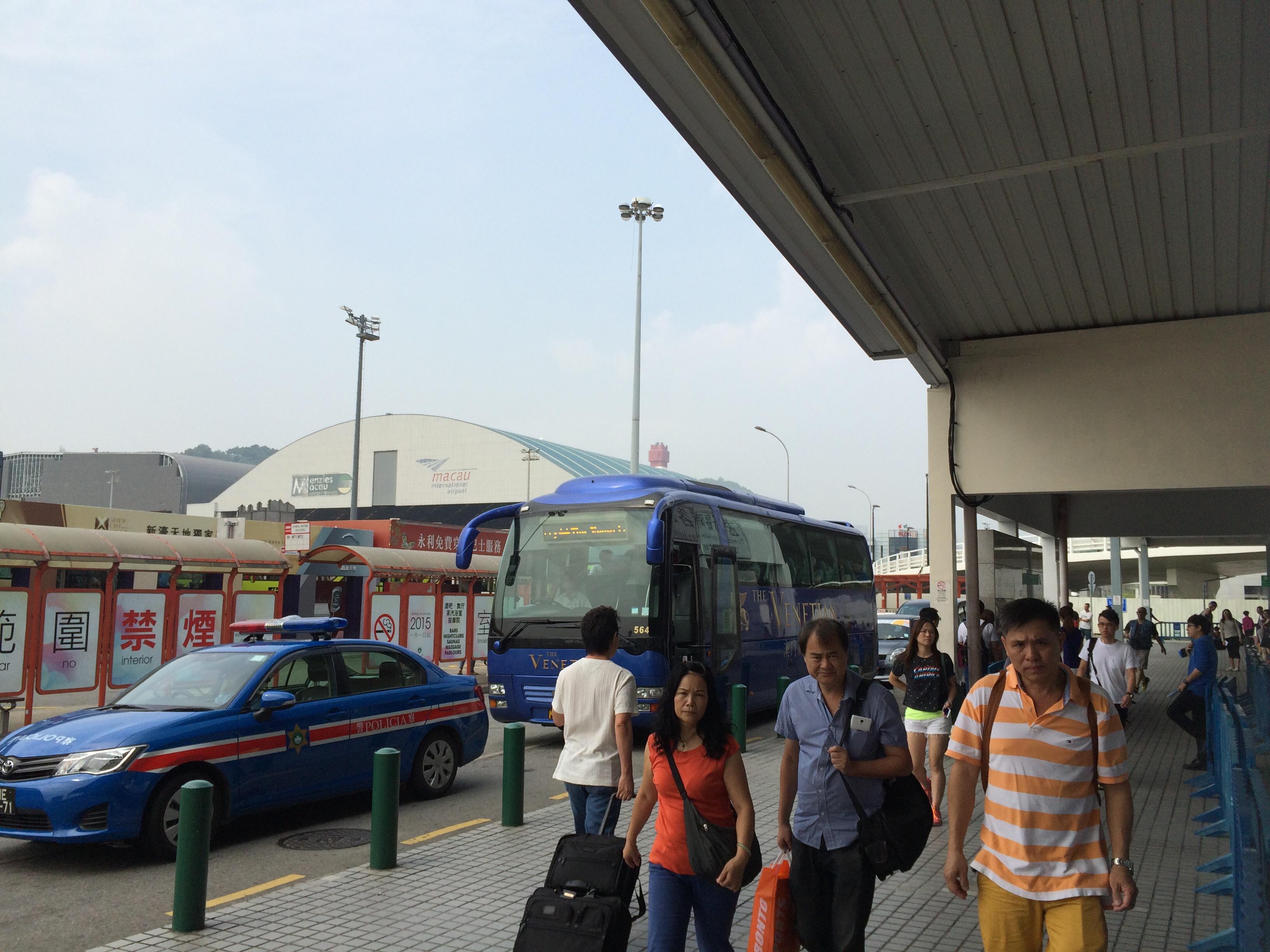 マカオ タイパフェリーターミナル6