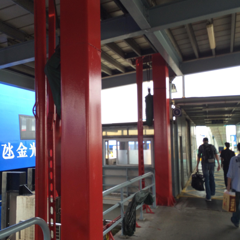 マカオフェリーターミナル-マカオから香港空港-1