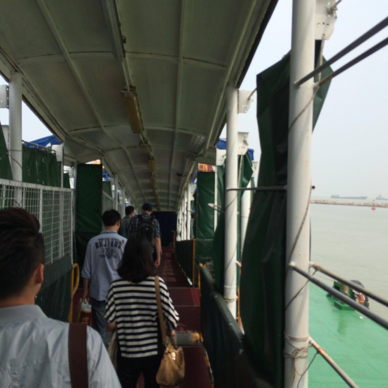 マカオフェリーターミナル-マカオから香港空港-18